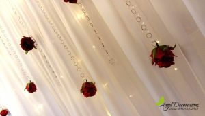 Ścianki ledowe z drobnymi dekoracjami