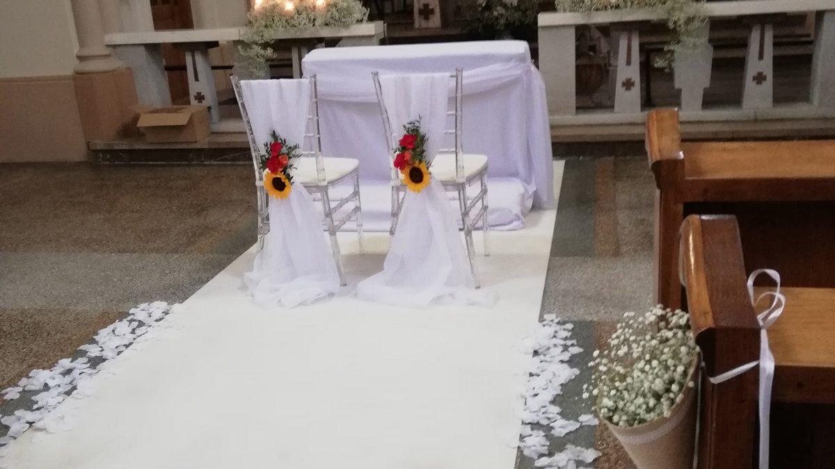Dekoracja kościoła w Kosocicach
